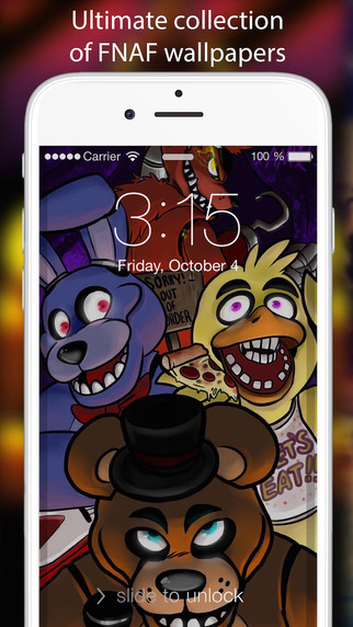 Wallpapers For Five Nights At Freddy`s EDITION - Design your custom Lock Screen Wallpapers wallpapers