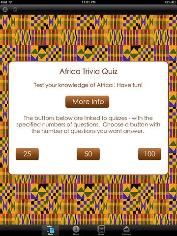 AfricaQuiz Free africa map quiz