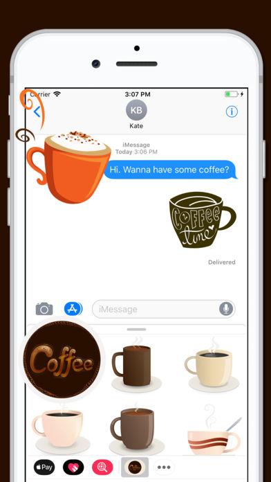 Coffee Gourmet Sticker coffee lover gamertag