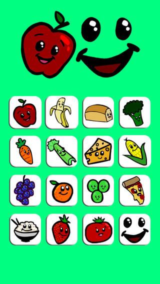Find My Food Free ~ Toddlers Learn Preschool nicaraguan food