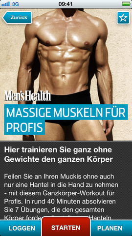 Personal-Trainer von Men's Health – der Coach für Fitness, Workout, Sixpack und Krafttraining