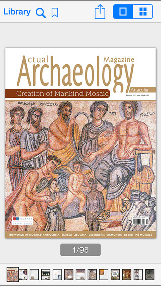 Actual Archaeology Magazine anatolia region