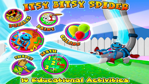 Itsy Bitsy Spider - All In one Educational Activity Center and Sing Along