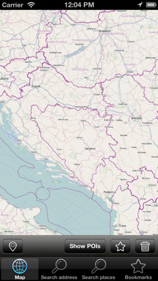 Map Bosnia and Herzegovina (Golden Forge) bosnia and herzegovina culture