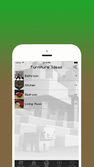 MCPedia : Furniture for Minecraft - Best Furniture Ideas & Video Guide for Furniture Design. school furniture