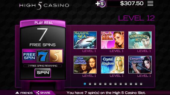 high 5 casino app for ipad