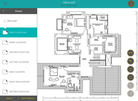 Site review markup and review your site s plans on a one for One of a kind house plans