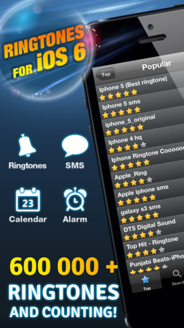 Ringtones for iOS 6 - Free & Unlimited!