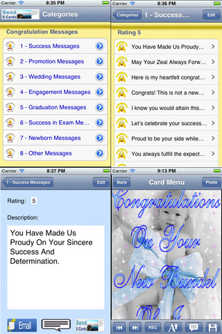 Congratulation Cards.Congratulation Greeting Cards.Customize and send Congratulation Ecards with audio recording
