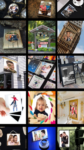 Frame-it Free - Arty Picture Frames & Photo Collage With Instagram Ready Square Frames! picture frames cheap