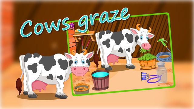 Holstein Cow Care —Pet Wash&Pet Home(Animal Care Game) elderly home care