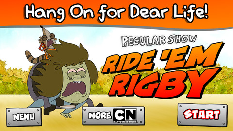 Ride `Em Rigby - Regular Show 1.0