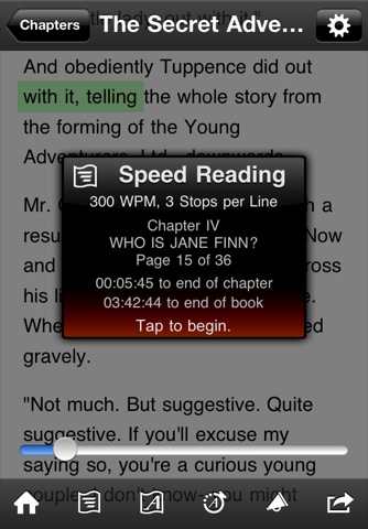 QuickReader – eBook Reader Shows You How To Read At 4000 Words Per Minute AND Gives Instant Access To More Than 2 Million FREE eBooks