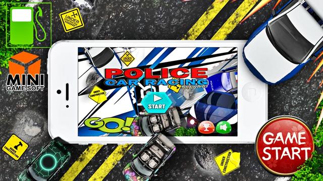 POLICE CAR RACING agame racing car games