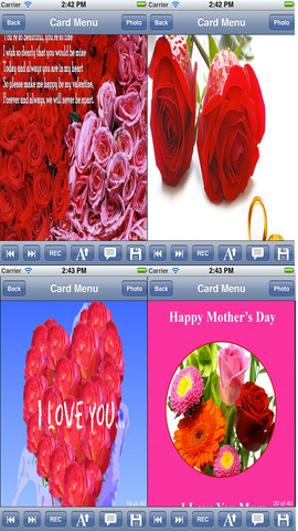 Flowers Love Cards.Customize and send romantic love cards with love text and voice messages love