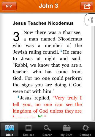 NIV Bible ✛