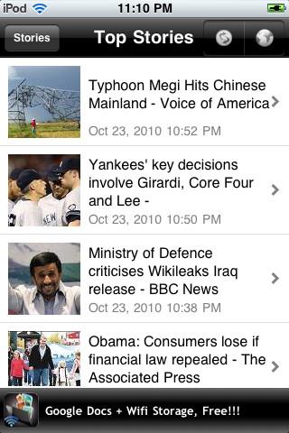kkNews (Google News Reader) news reading app