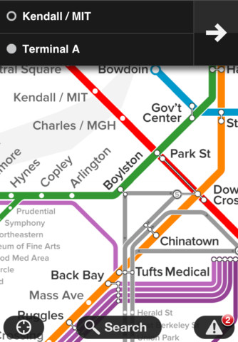 Boston T – MBTA by Embark