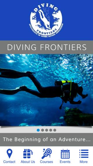 Diving Frontiers diving equipment