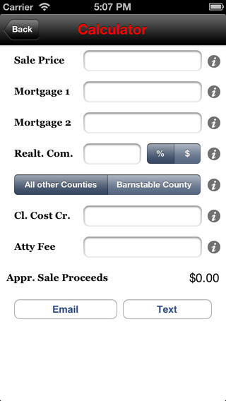 List Assist - MA Sale / Short Sale / Proceeds Calculator scoreboards for sale