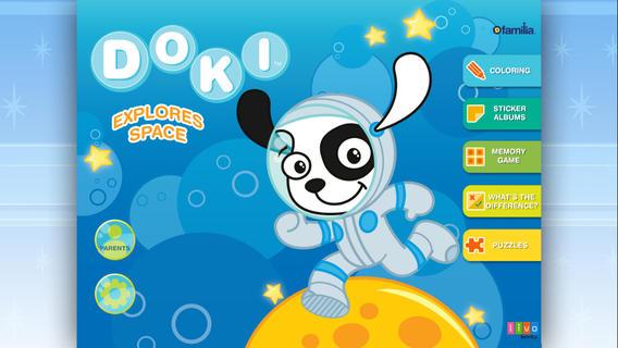 Discovery Familia Activity Books - Doki Space Activity outdoor activity award