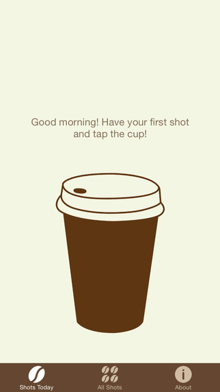 Coffee Shots - Keep Track of Your Daily Coffee Consumption to Improve Your Health! coffee junkie cartoon