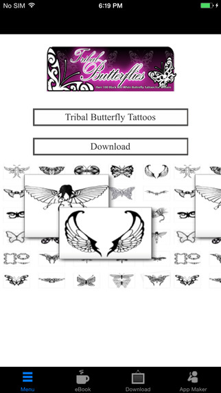 Ladies Tribal Butterfly Tattoos:Over 100 Rare And Beautiful Black And White Tribal Butterfly Tattoos flower tattoos