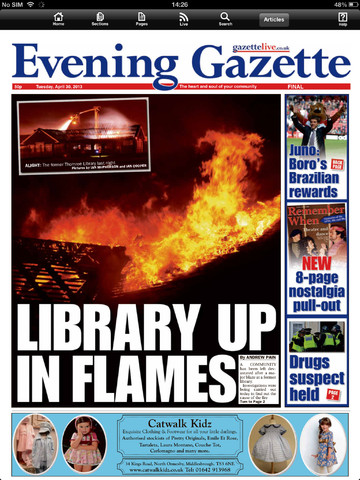 evening gazette middlesbrough dating Find local listings in middlesbrough buy and sell using gazette live marketplace today.