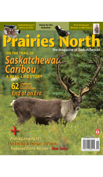 Prairies North: the magazine of Saskatchewan canadian prairies map