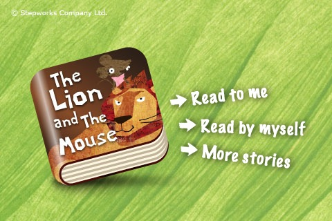 Download the lion and the mouse – kidztory animated storybook iphone