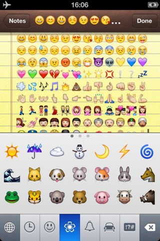A+ Emotion Icons HD – Best Animated Smileys Emoticons Keyboard For Mail, IM, Chat, SMS And Notes(Support iPhone,iTouch and iPad) 1.0