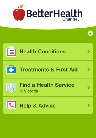 Better Health Channel – Health Information and Services mental health services