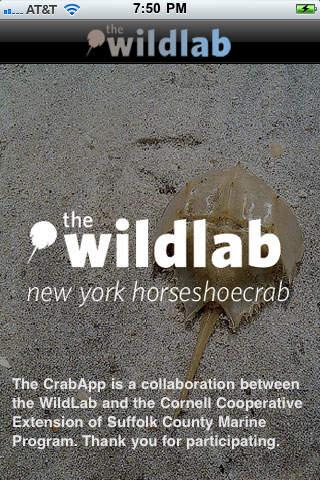 Crab App horseshoe