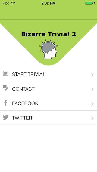 Bizarre Trivia! 2 (Ad Free) very funny trivia questions