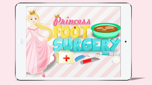 Princess Foot Surgery - Crazy surgeon and free foot doctor care game anatomy of foot