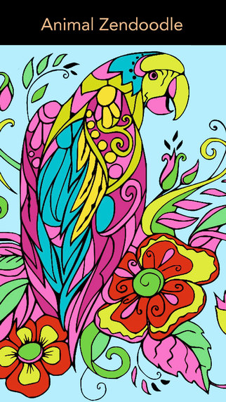 Color Therapy - Stress Relieving Coloring Books for Adults