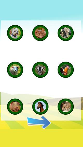 Animal Sounds - cognitive development and memory for children LITE preschool children development
