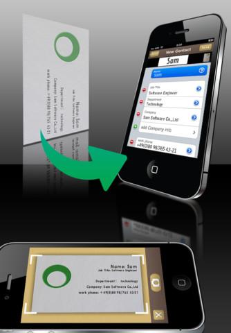 SamCard (Japanese version)-business card reader & business card scanner business card printing