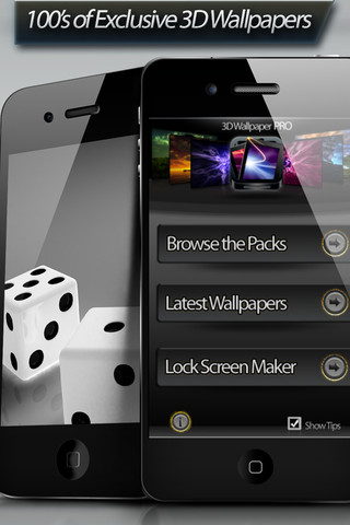 3D Wallpaper Pro – Wallpapers HD - Designer Home Screens, Lock Screens & Backgrounds projector screens