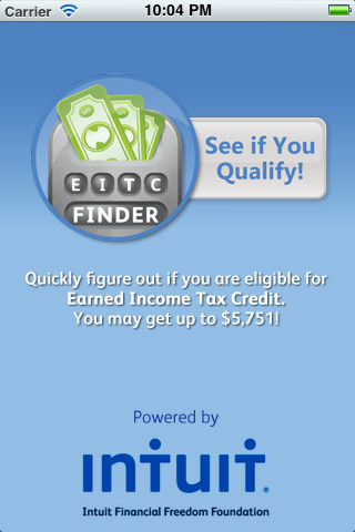 Calculator See if you qualify for the Earned Income Tax Credit 1.0