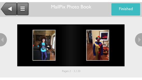 Mailpix Book App book cataloging app