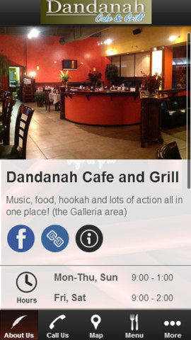 Dandanah Cafe and Grill mediterranean cuisine