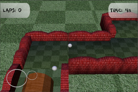 Race Golf Ball 3D Racing