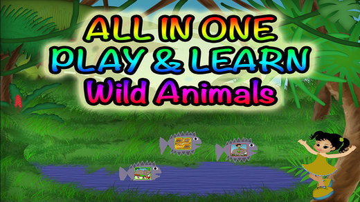 123 Wild Animals Fun All In One - Jungle Fun Learning Games games fun