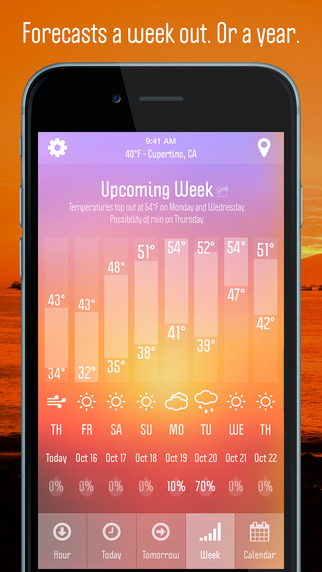 Weather Nerd - Local Forecasts and Daily Alerts