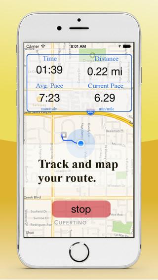 FootPrints GPS Activity Tracking outdoor activity award