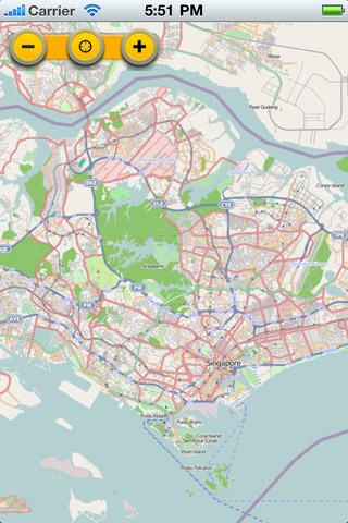 Singapore Map - Offline