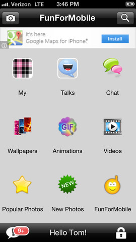 FunForMobile Photos and Chat