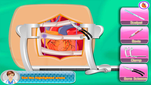 Heart Surgery Free operation game