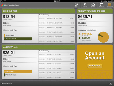 FHB Online® for iPad®